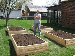 Raised Garden Bed Design Ideas Bp Builds Four Raised Garden Beds