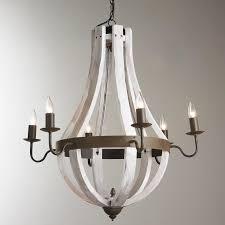 wooden chandeliers lighting. wooden wine barrel stave chandelier chandeliers lighting