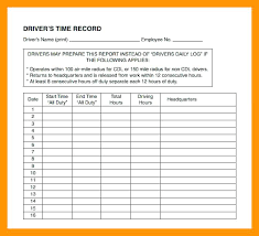 Excel Drive Time Log Sheet Template Download Daily Rhumb Co