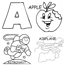A Is For Apple Coloring Page Alphabet Coloring Pages Printable ...