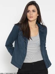 women u s polo assn women women navy blue solid biker jacket sh0oyfy9m