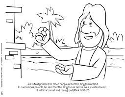Jesus Coloring Pages Miracles Free Pdf Baby Printable Faith In Page