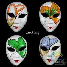 Decorating A Mask Butterfly White Paper Pulp Party Masks For Women Decorating Full 29