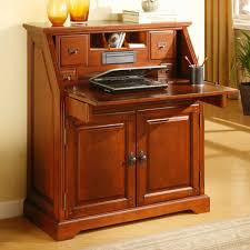 secretary desk hutch size