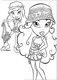 Small Picture Bratz Coloring Pages To Print esonme