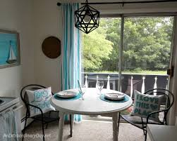lighting small space. small space dining area makeover with lighting from parrot uncle at anextraordinarydaynet