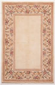 kas oriental rugs ruby 8928 ivory ivory fl border area rug