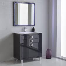 gym equipmentfresca platinum due  glossy cobalt bathroom vanity