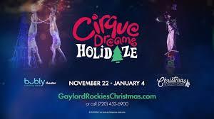 Denver Cirque Du Soleil Seating Chart Cirque Dreams Holidaze