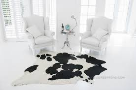 black and white cowhide rug contemporary rugs other black and white cowhide rug