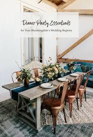 dinner party registry essentials with bloomingdale s green bloomingdales furniture