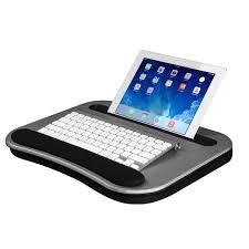 smart e lap desk silver carbon lapdesk com ipad lap pillow bed bath and beyond