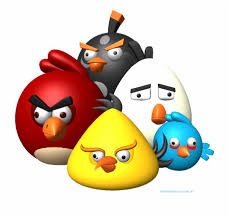 Angry Birds Vector Png - Angry Bird Wallpaper 3d | Transparent PNG Download  #254147 - Vippng