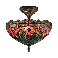 horrible sonota brass mount light plus art glassshade dale tiffany sonota brass mount in home depot