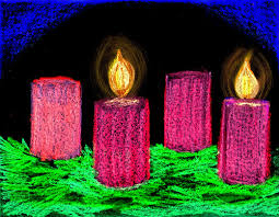 Image result for Advent candles free images