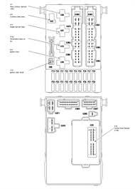 i need the configuration of the fuse box of a contour fixya fuse 42