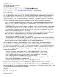 mark s schuyler sr futures trader resume cover letter equity trader cover letter
