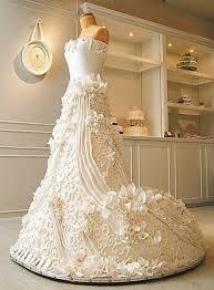 Wedding Cakes Amazing Big Wedding Dress Cakes
