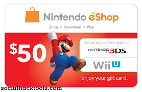nintendo e card codes generator 2019 free gift cards no survey