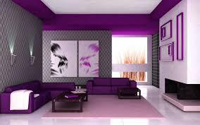 Purple Decor For Living Room Decorate Living Room Purple Walls Grey And Paint On House Design