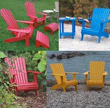 muskoka chairs durable plastic patio furniture
