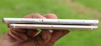 huawei p8 lite vs iphone 6. huawei p8 vs apple iphone 6 thickness lite iphone