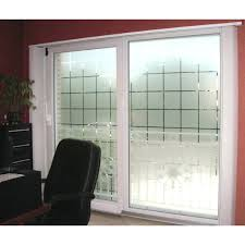 privacy glass patterned decorative white frosted window privacy frosted glass large block pattern