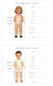 Wallet Sized Measurement Chart A Little Holiday Gift For