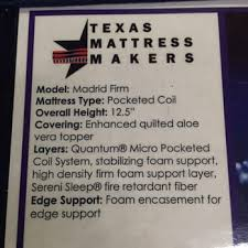 Photo of Texas Mattress Makers  Houston TX United States This is the