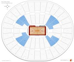 Wells Fargo Basketball Seating Chart Desert Financial Arena Arizona State Seating Guide