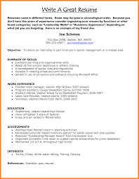 Very Good Resume Examples It Support Sample Resume Plant