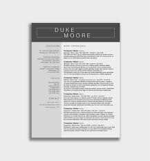 Download 60 Free Professional Resume Template Downloads Free Free