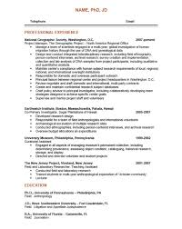 Resume Template Doc Enchanting Phd Resume Template Doc Best Resume Examples