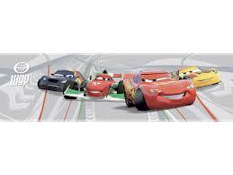 Disney Behangrand Zelfklevend Cars 2 Multicolor Hubo