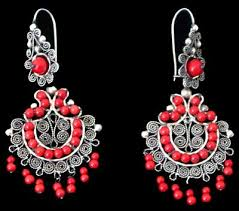 mexican c chandelier earrings