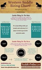 Barrel Saddle Size Chart Western Saddle Sizing Chart Saddleonline Com