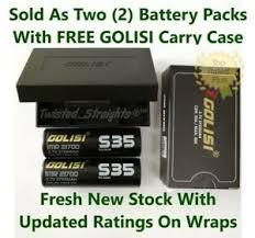Mooch Battery Chart 20700 Details About 2 Golisi S35 Series Batteries Imr 21700 Cdr 30a Max 40a 3750mah Li On Battery