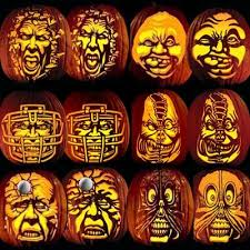 Advanced Pumpkin Carving Patterns Interesting Amazon Pumpkin Carving Tattoo Patterns Villafane Party Pack