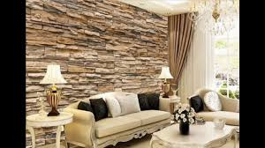 Wallpaper Designs For Living Rooms 17 Fascinating 3d Wallpaper Ideas To Adorn Your Living Room Youtube