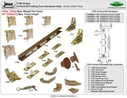Johnson Hardware 1700 Bi-Fold Door Hardware | Johnsonhardware.com ...