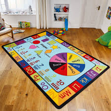 childrens play rug inspirational nursery learning rugs are both functional and educational unique