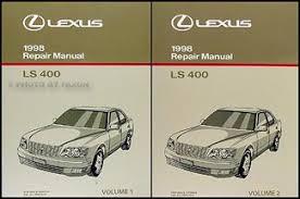1998 lexus ls 400 repair shop manual original 2 volume set 1998 lexus ls 400 repair manual original 2 volume set