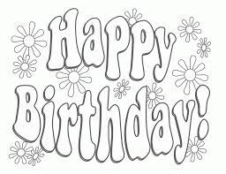 Happy Birthday Grandpa Coloring Pages - qlyview.com