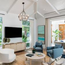 We can always break up the grouping on different walls in the future so all of these pretty coastal pictures will be easy to reuse. 75 Beautiful Coastal Living Room Pictures Ideas April 2021 Houzz