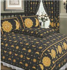 king size duvet cover set sun and moon