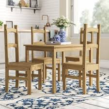 vida corona dining set with 4 chairs