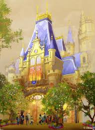 an ornate archway provides a grand entry into enchanted storybook castle the inspirational icon of