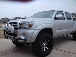2010 Double Cab trd sport silver short bed 4x4, 3'' lift 285/70r17 ...