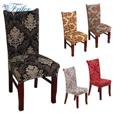 vine anti dirty stretch chair covers elastic dining chair protector slipcovers home room decor wedding