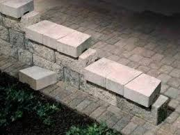 how to step down or end your patio wall